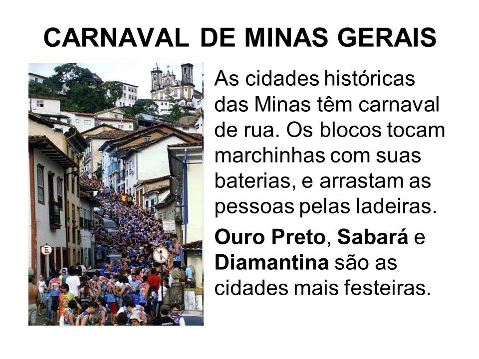 CARNAVAL DE MINAS GERAIS