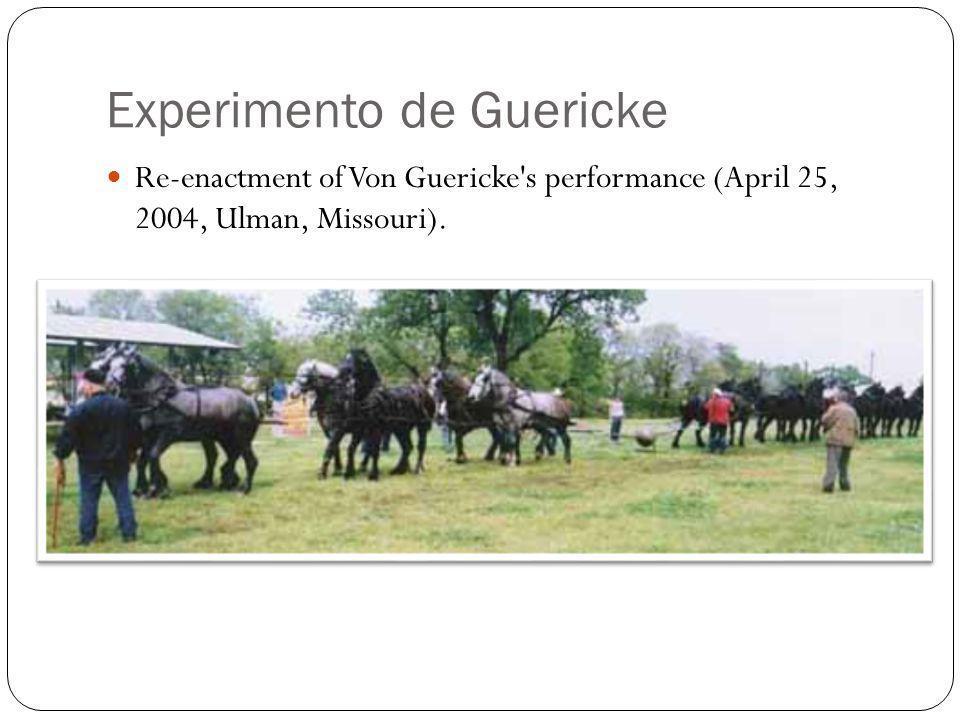 Experimento de Guericke