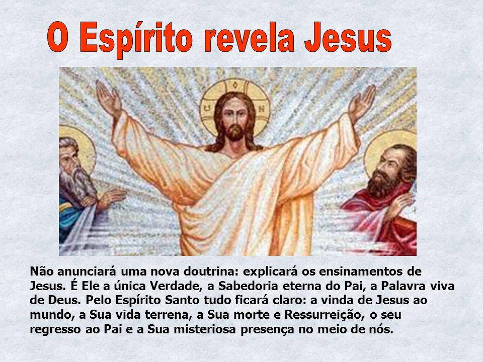 O Espírito revela Jesus