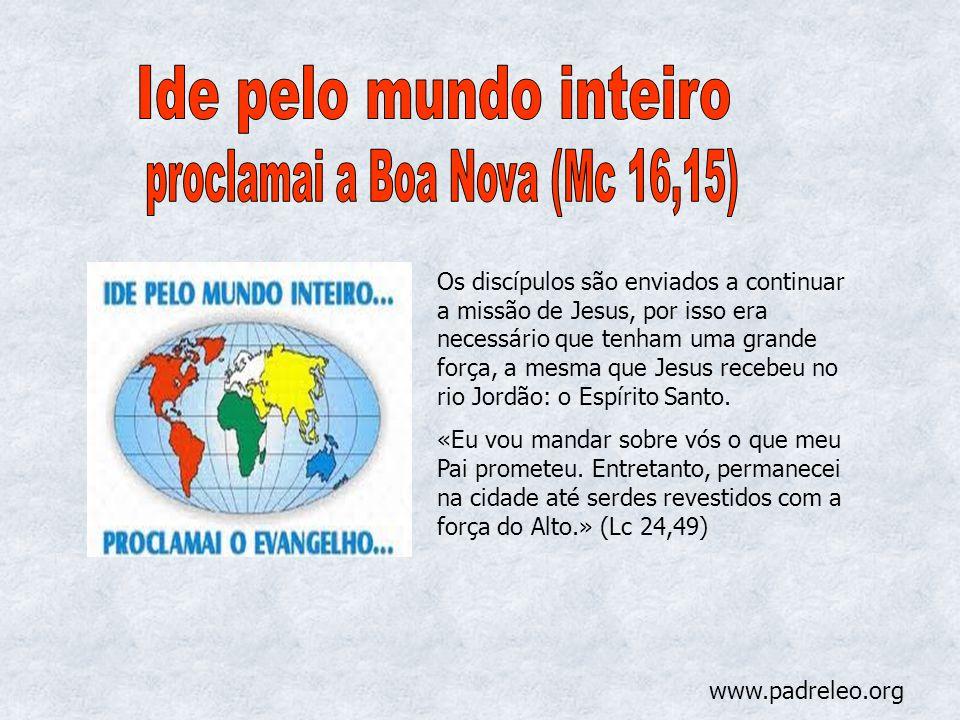proclamai a Boa Nova (Mc 16,15)