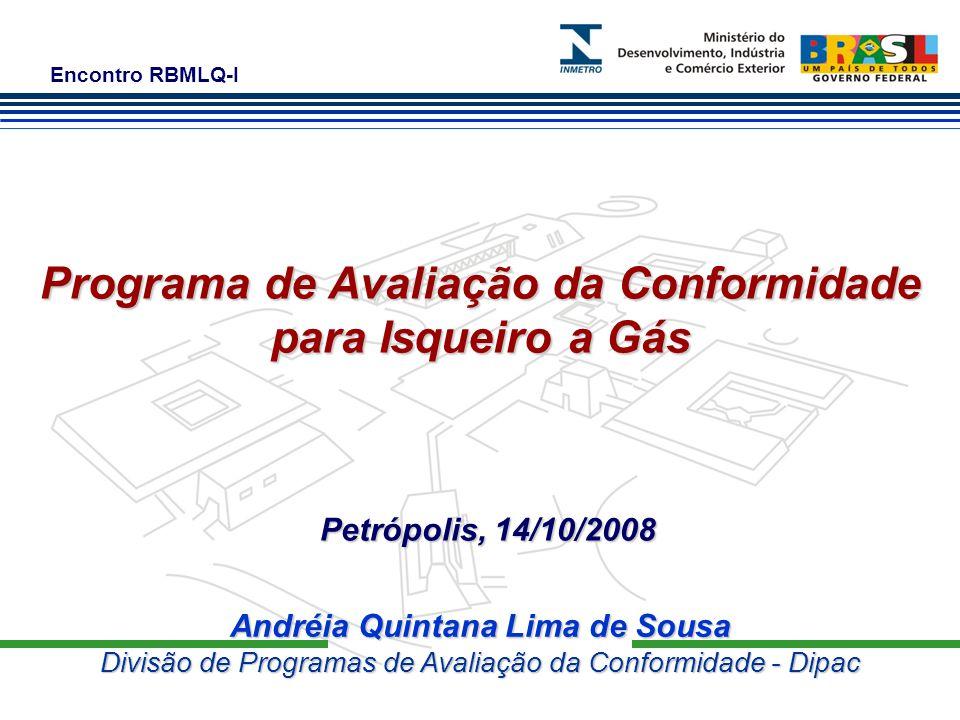 Programa de Avaliação da Conformidade Andréia Quintana Lima de Sousa