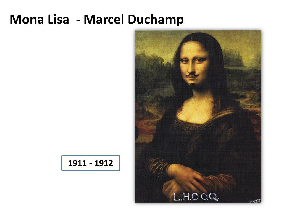 Mona Lisa - Marcel Duchamp