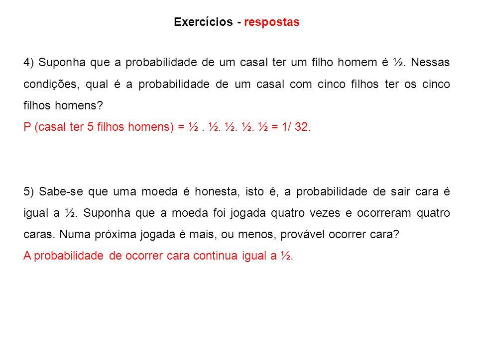Exercícios - respostas