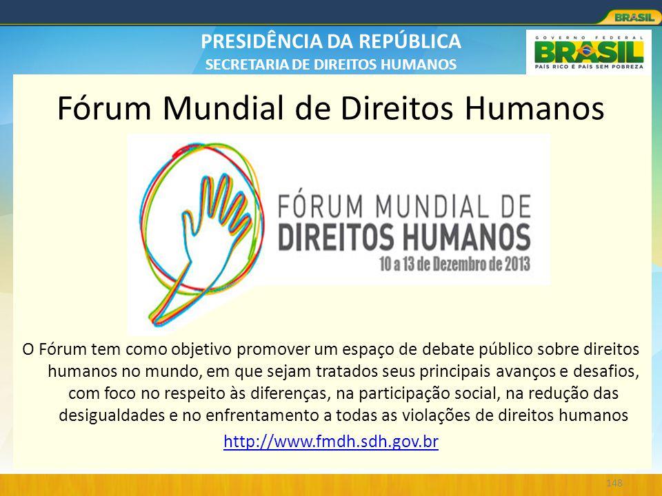 Fórum Mundial de Direitos Humanos
