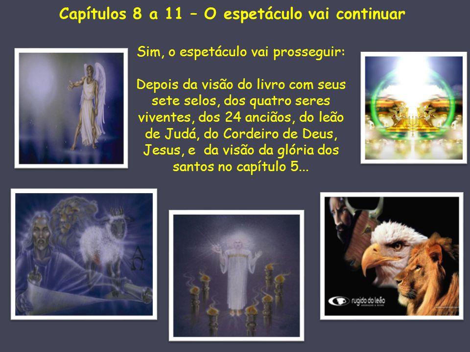 Capítulos 8 a 11 – O espetáculo vai continuar