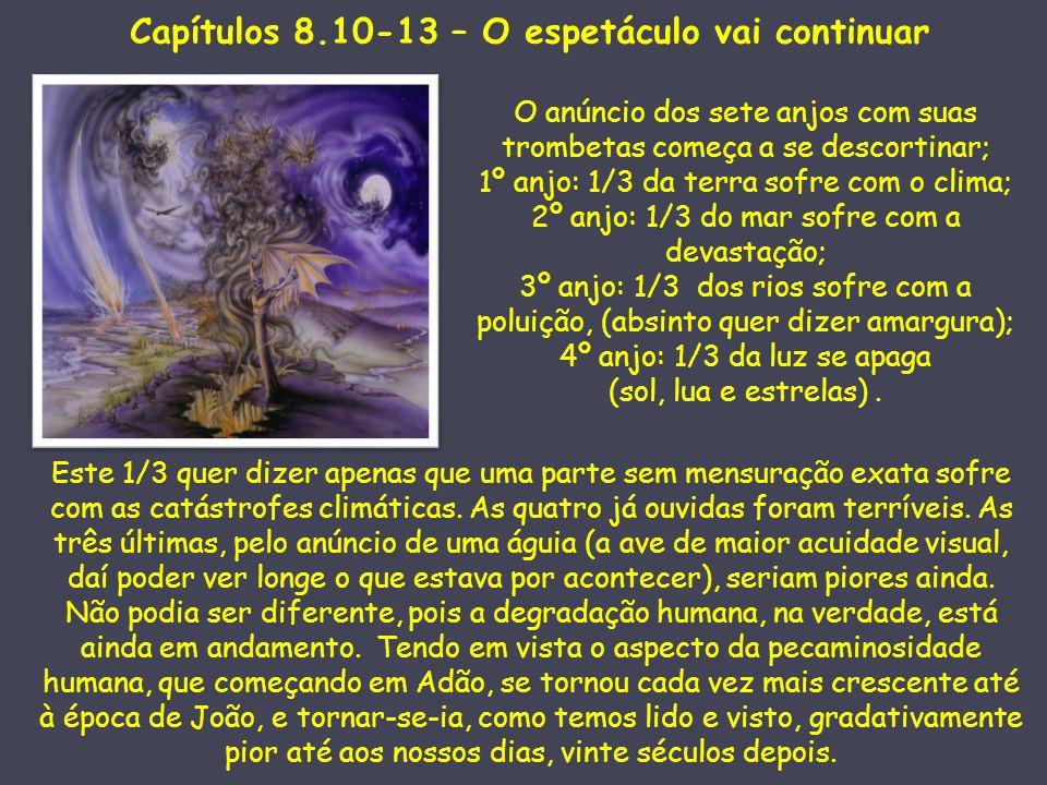 Capítulos 8.10-13 – O espetáculo vai continuar