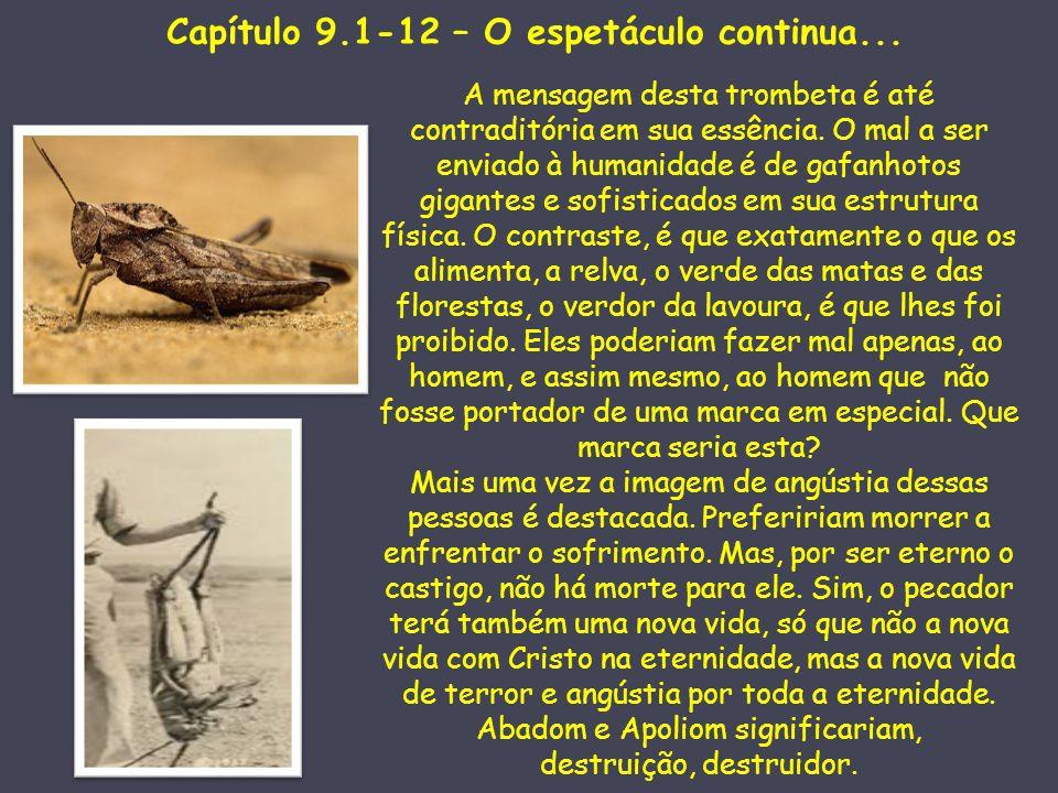 Capítulo 9.1-12 – O espetáculo continua...