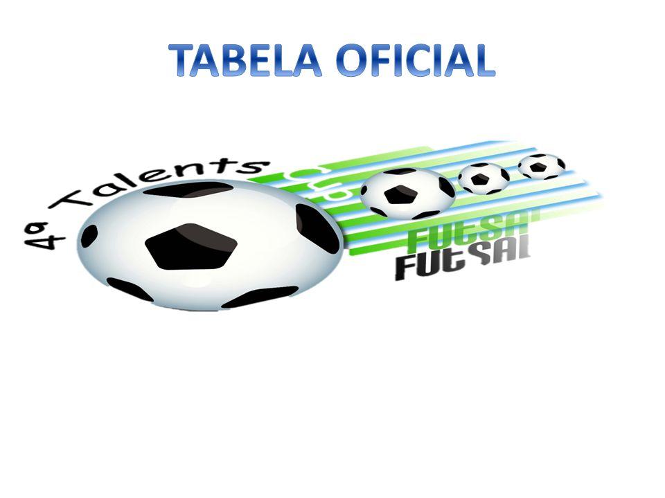 TABELA OFICIAL