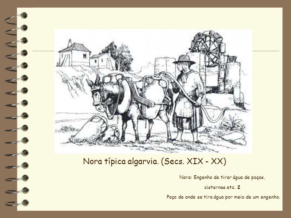 Nora típica algarvia. (Secs. XIX - XX)