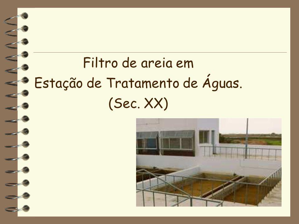 Estação de Tratamento de Águas.
