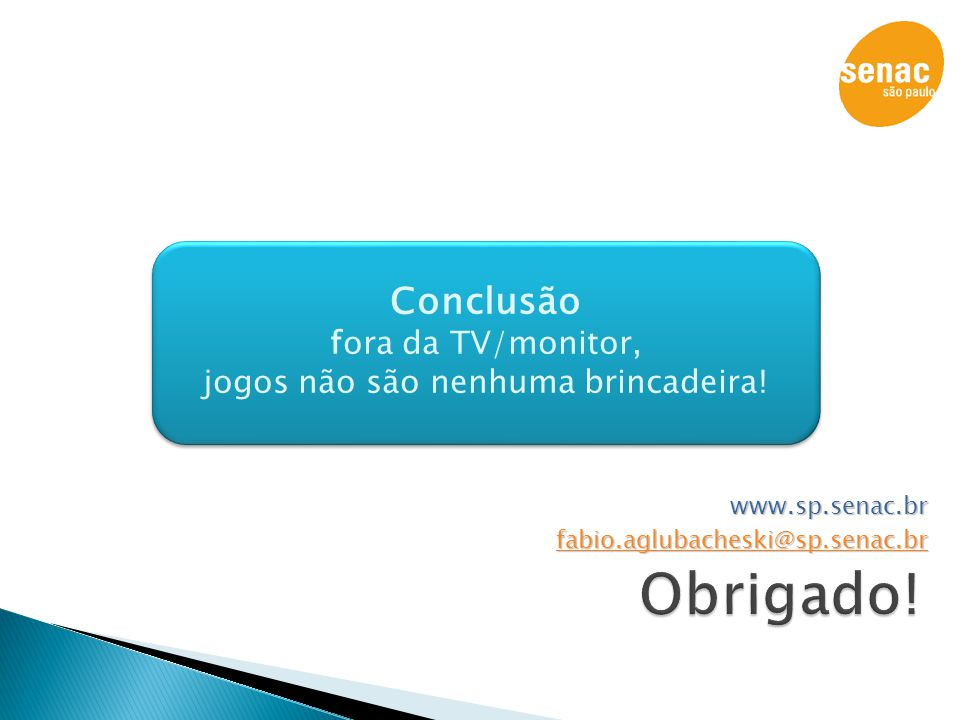 www.sp.senac.br fabio.aglubacheski@sp.senac.br