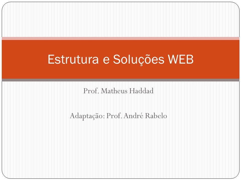Estrutura e Soluções WEB