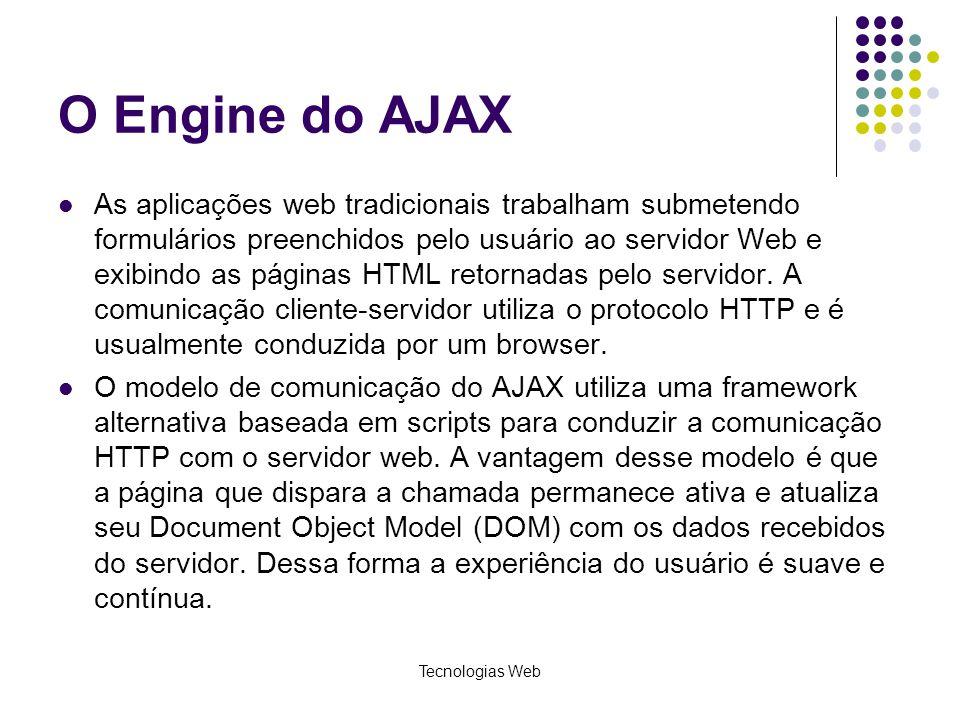 O Engine do AJAX