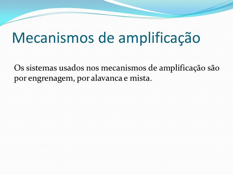 Mecanismos de amplificação