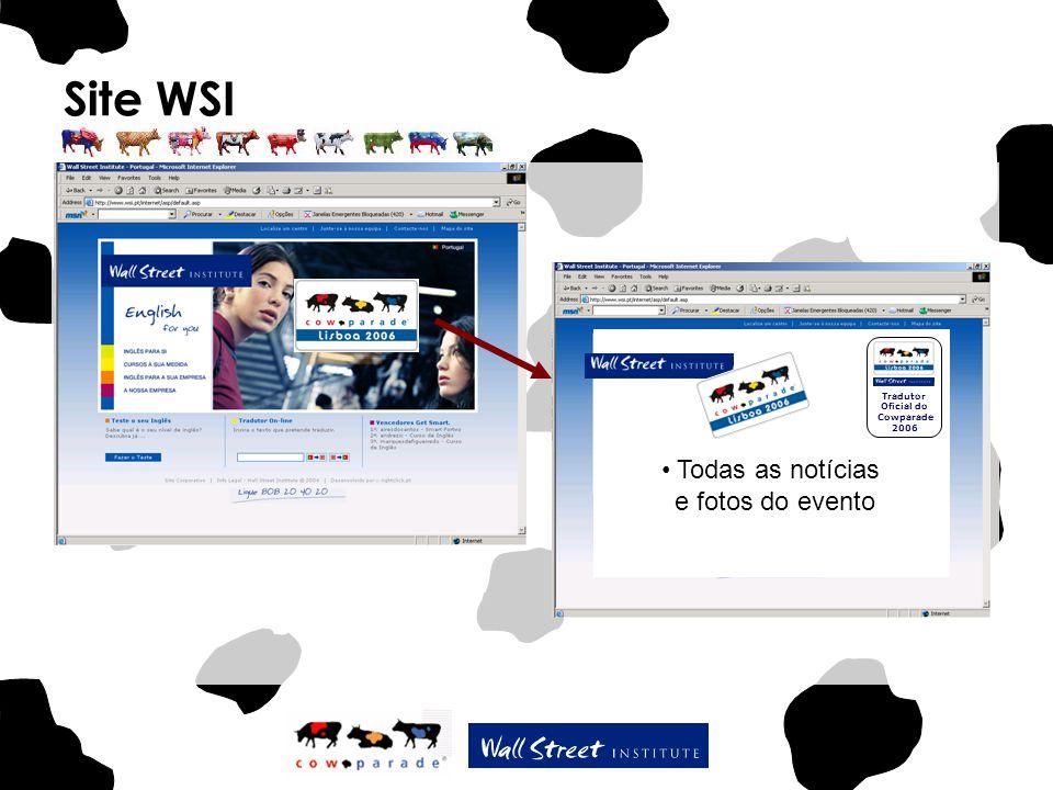 Site WSI Todas as notícias e fotos do evento Tradutor Oficial do