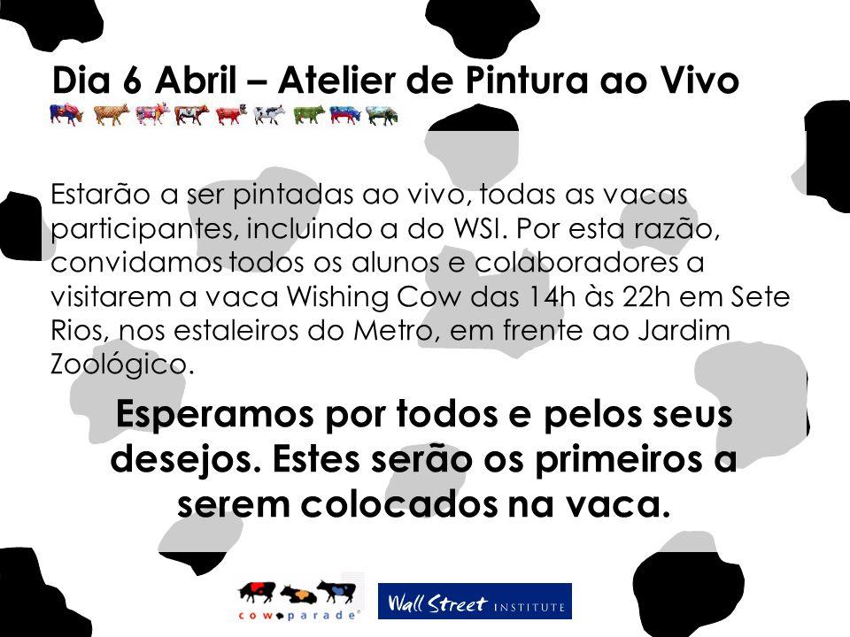 Dia 6 Abril – Atelier de Pintura ao Vivo