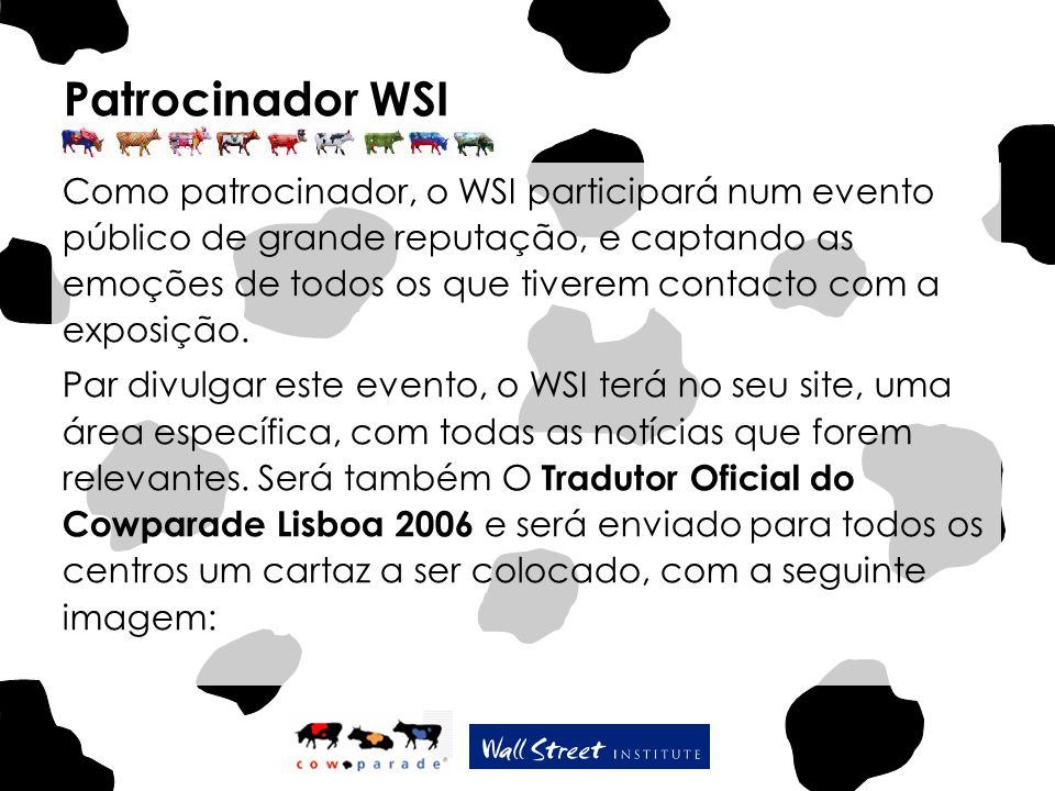 Patrocinador WSI
