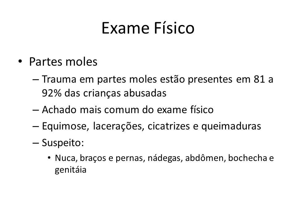 Exame Físico Partes moles