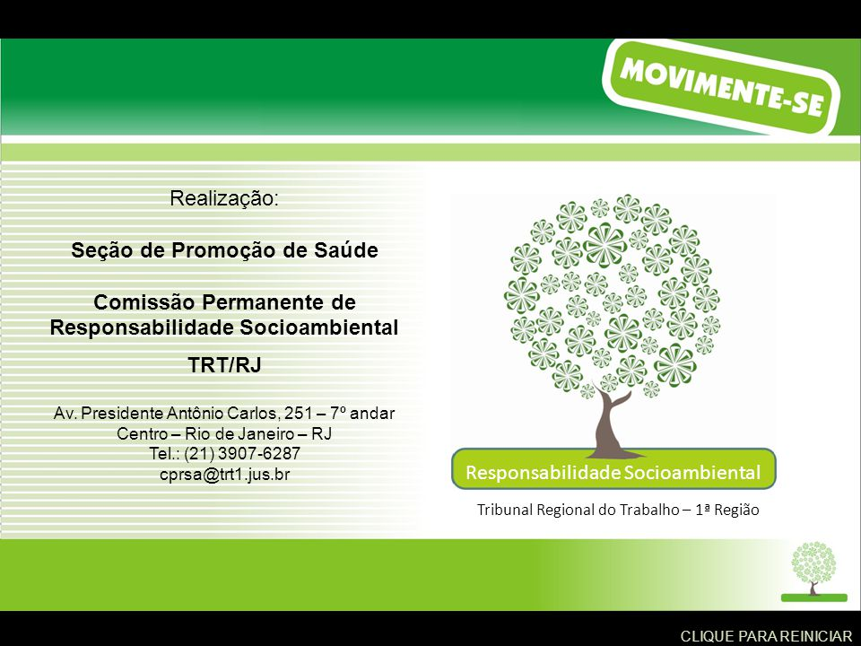 Seção de Promoção de Saúde