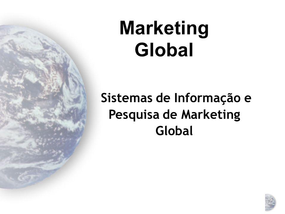 Sistemas de Informação e Pesquisa de Marketing Global