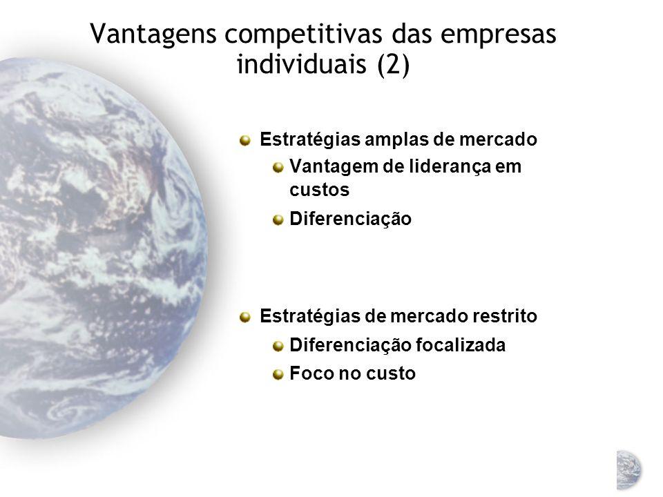 Vantagens competitivas das empresas individuais (2)