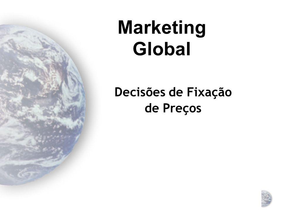 Marketing Global Decisões de Fixação de Preços