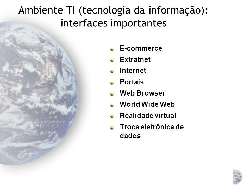 Ambiente TI (tecnologia da informação): interfaces importantes