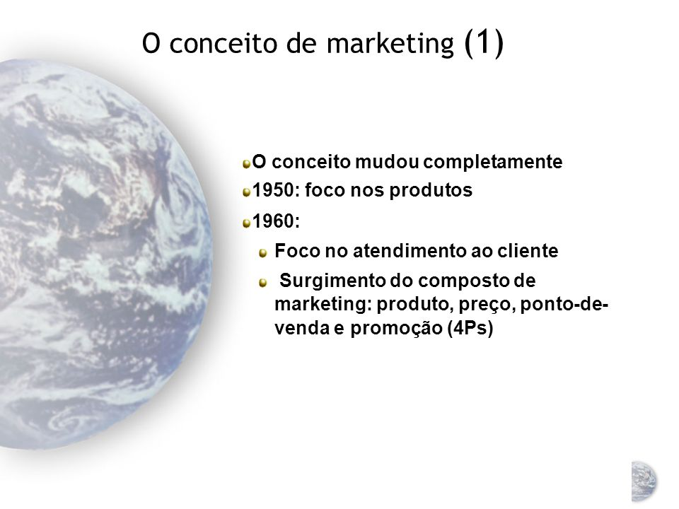 O conceito de marketing (1)