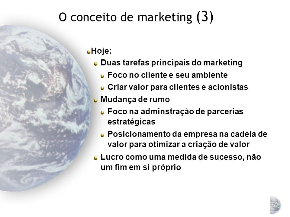 O conceito de marketing (3)