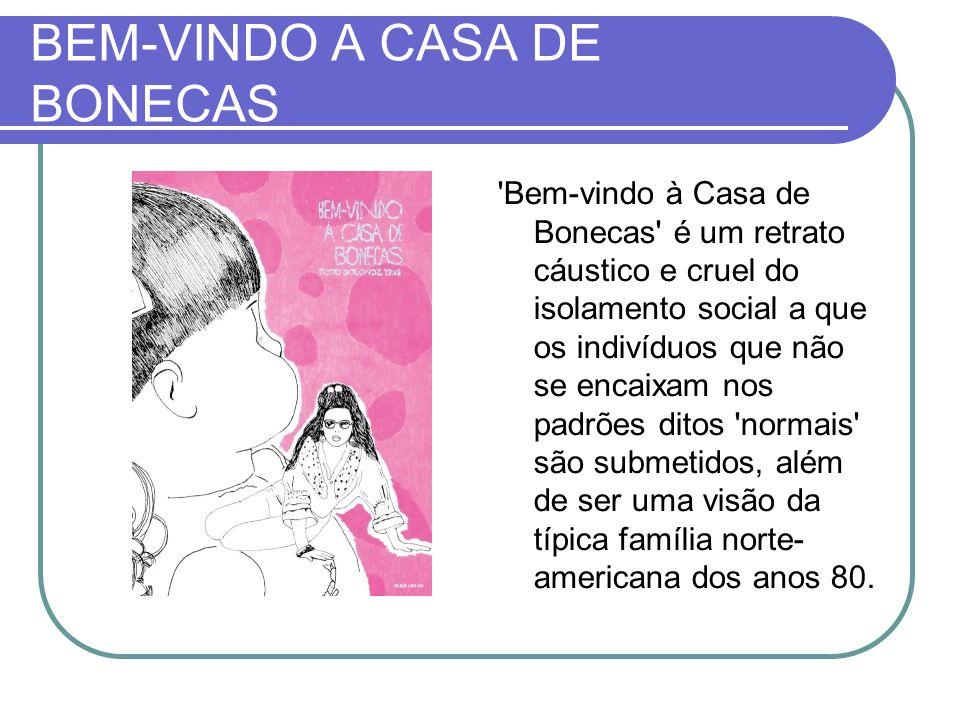 BEM-VINDO A CASA DE BONECAS