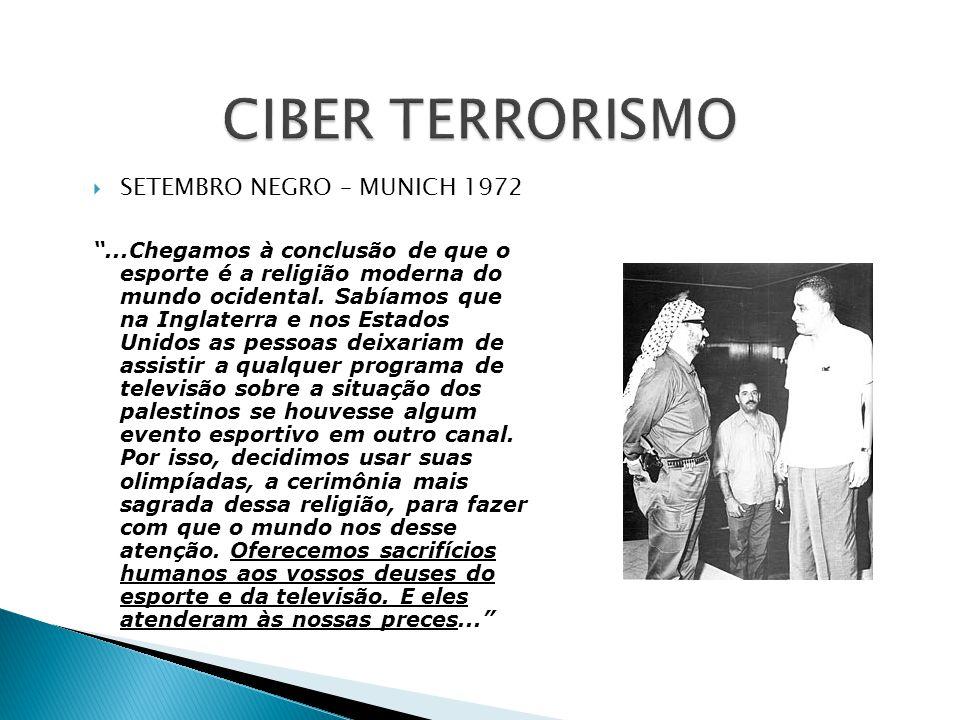 CIBER TERRORISMO SETEMBRO NEGRO – MUNICH 1972