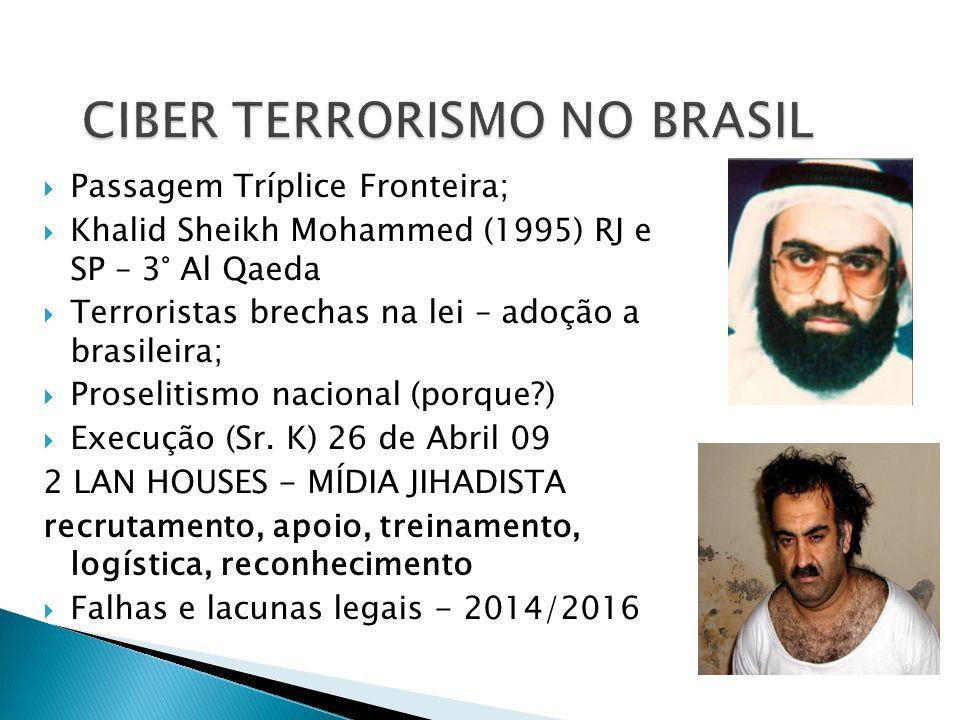 CIBER TERRORISMO NO BRASIL
