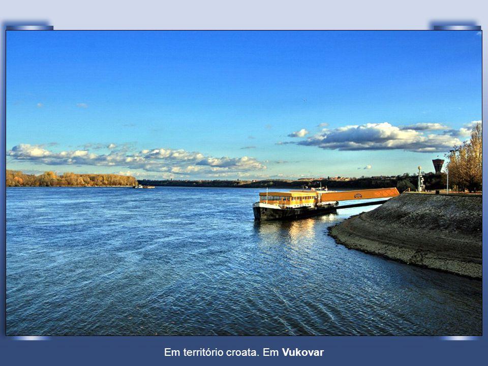 Em território croata. Em Vukovar