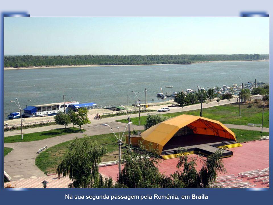 Na sua segunda passagem pela Roménia, em Braila