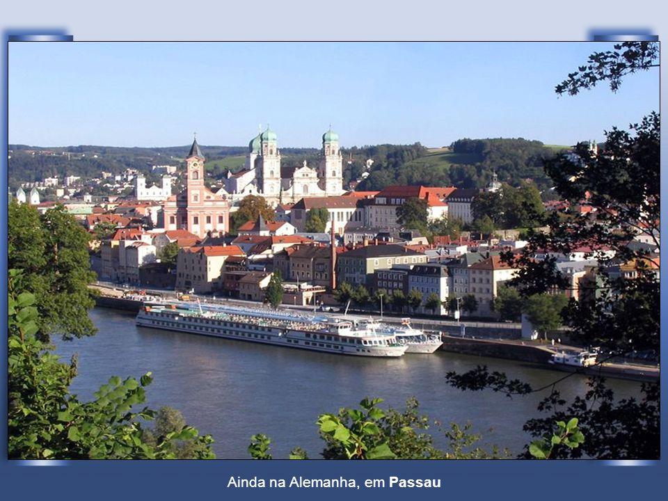 Ainda na Alemanha, em Passau