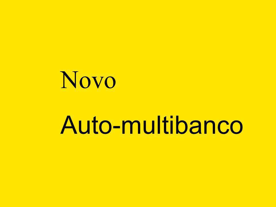 Novo Auto-multibanco