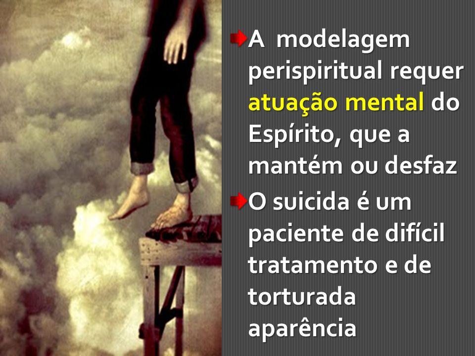 A modelagem perispiritual requer atuação mental do Espírito, que a mantém ou desfaz