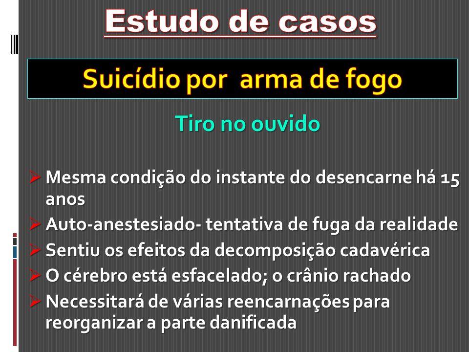Suicídio por arma de fogo