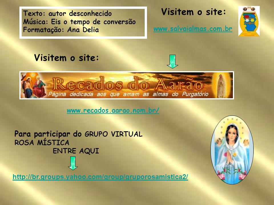 Visitem o site: Visitem o site: