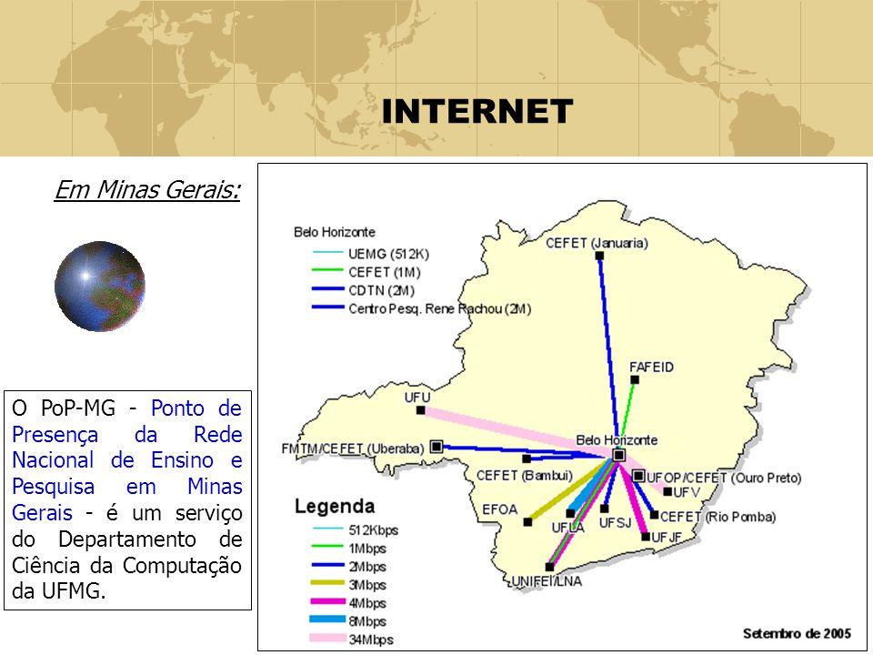 INTERNET Em Minas Gerais: