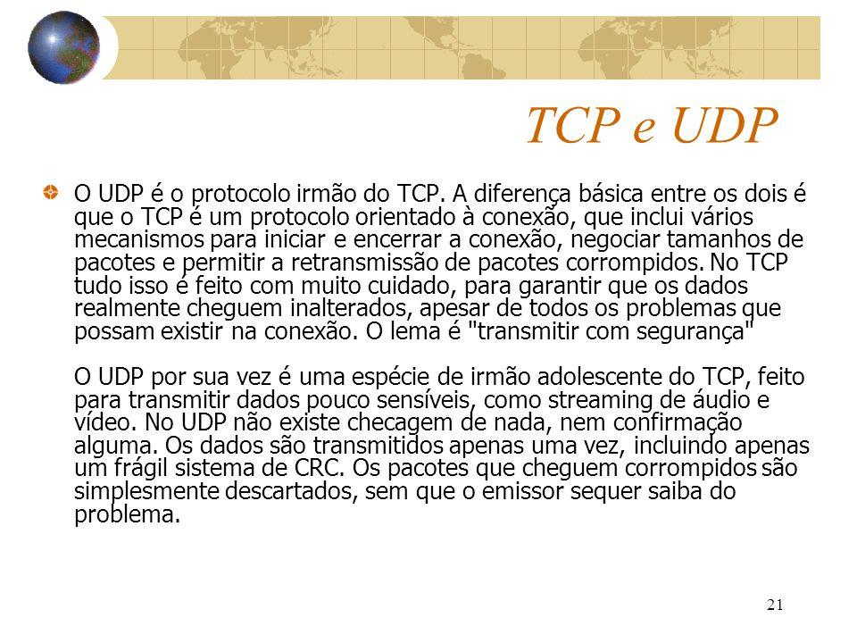 TCP e UDP