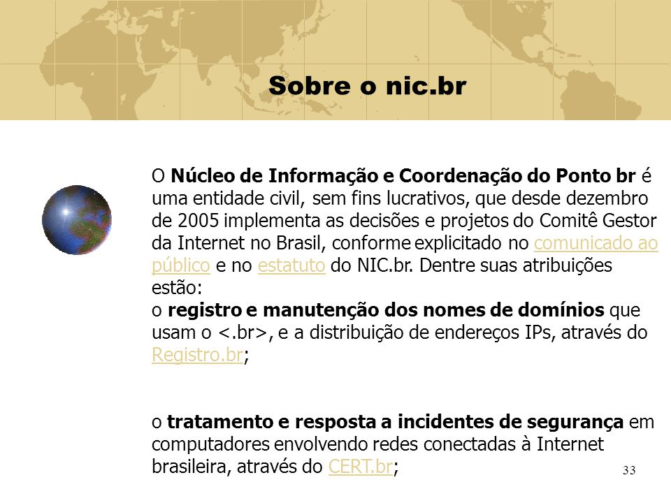 Sobre o nic.br