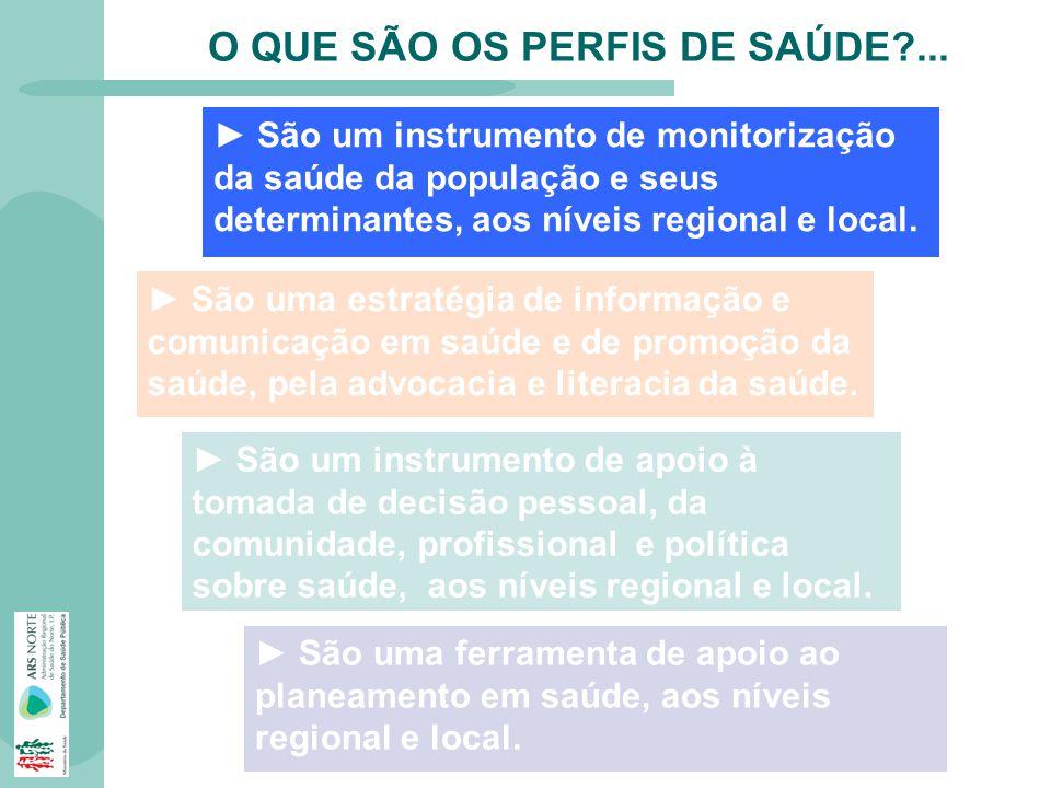 O QUE SÃO OS PERFIS DE SAÚDE ...