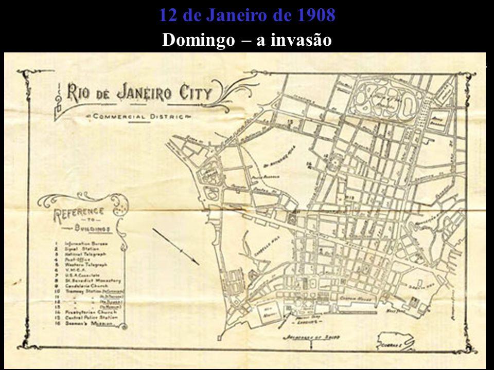 Elaborou-se um mapa do centro comercial da Cidade (abaixo):