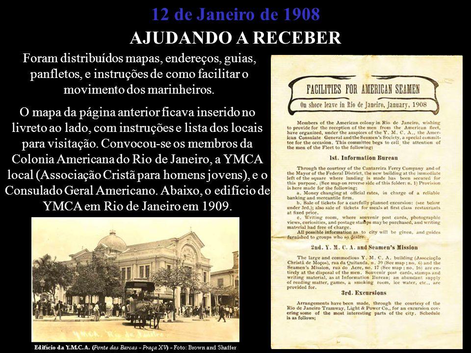 12 de Janeiro de 1908 AJUDANDO A RECEBER