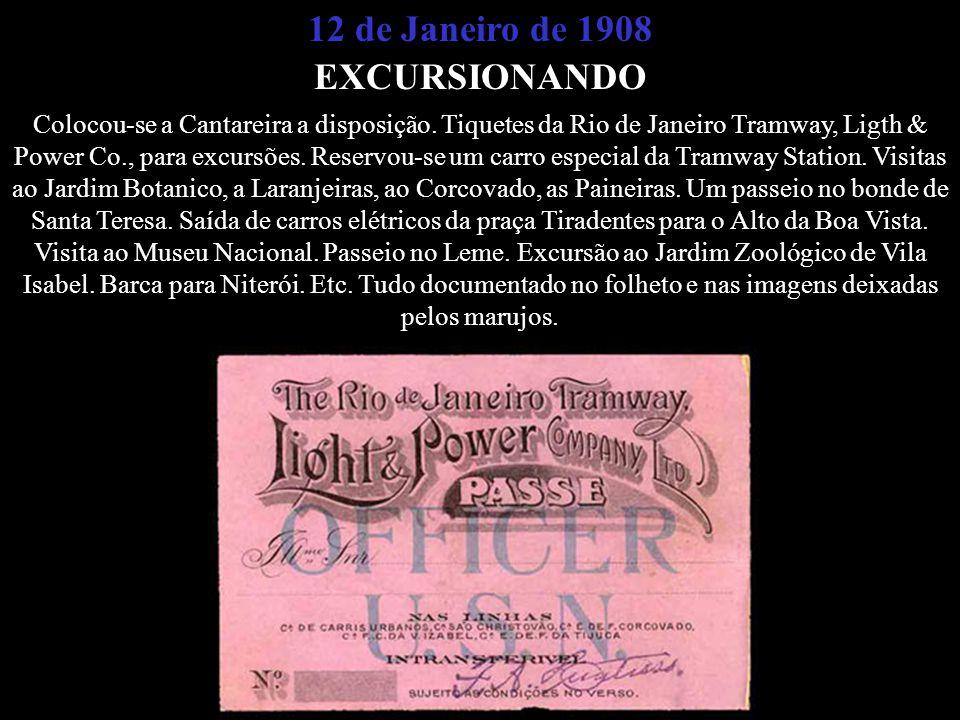 12 de Janeiro de 1908 EXCURSIONANDO