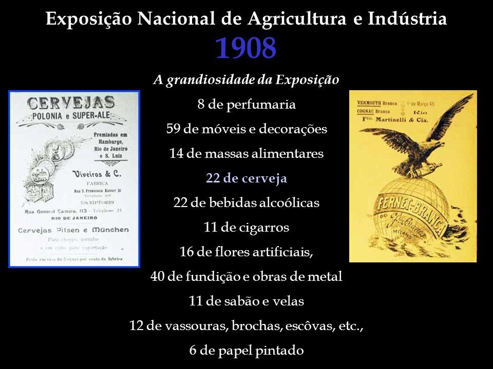1908 Exposição Nacional de Agricultura e Indústria