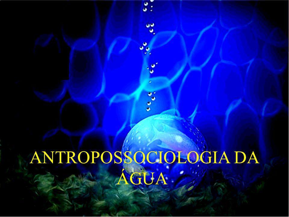 ANTROPOSSOCIOLOGIA DA ÁGUA