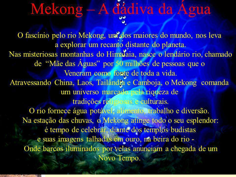 Mekong – A dádiva da Água
