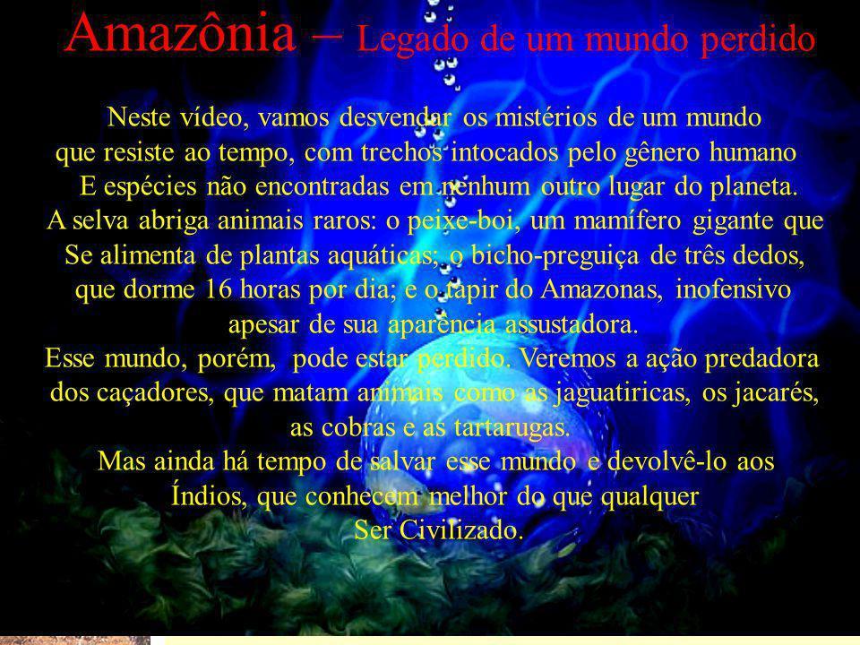 Amazônia – Legado de um mundo perdido